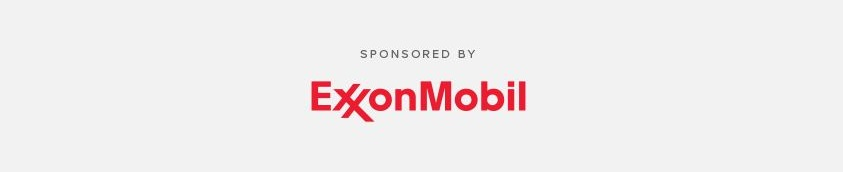 Sponsored by EXXON (grey bkg)