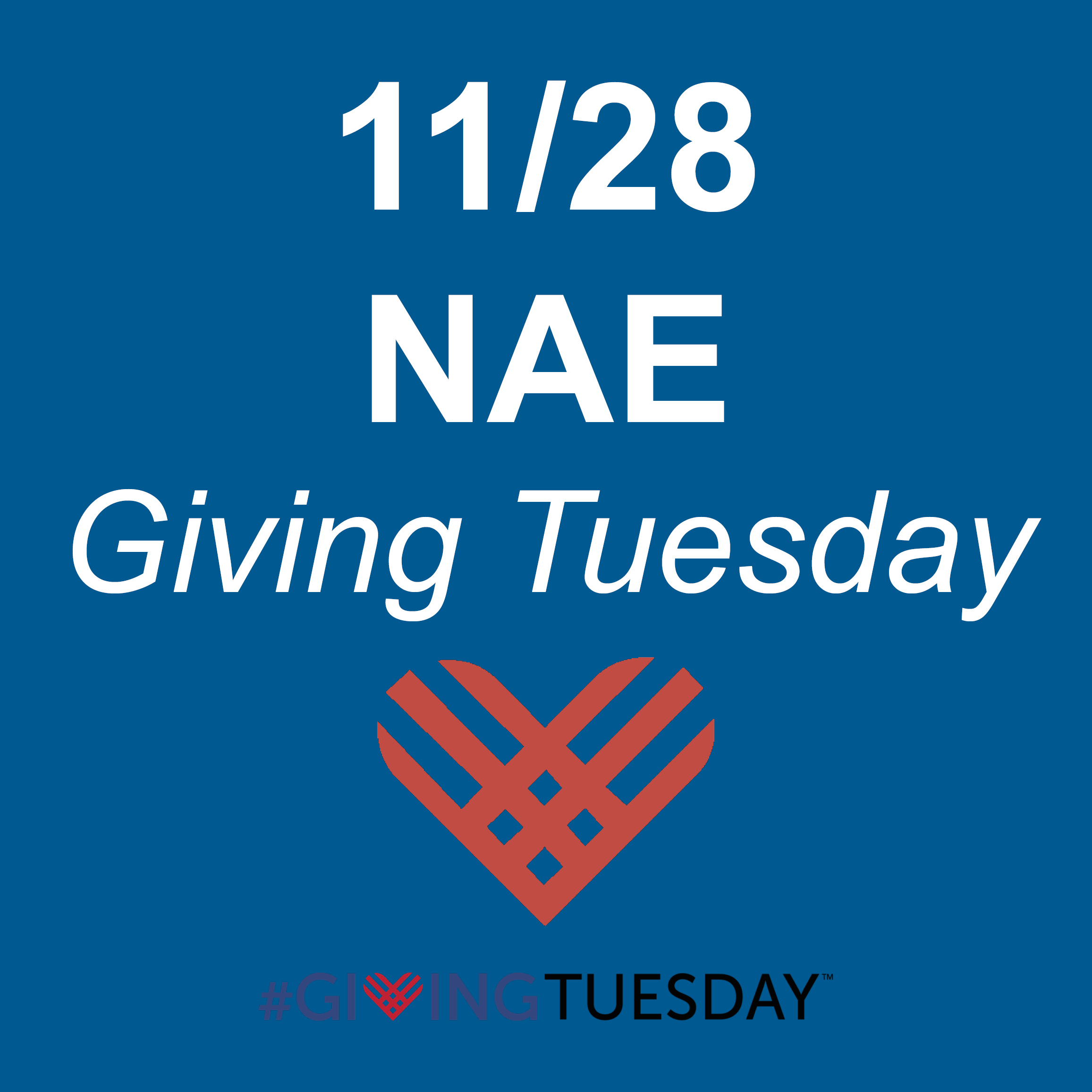 Giving Tuesday NAE