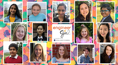 EngineerGirl Announces 2019 Writing Contest Winners