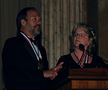 Dr. Larry Carlson and Dr. Jackie Sullivan on receiving the 2008 Gordon Prize