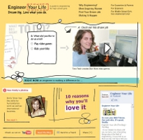 Engineer Your Life homepage