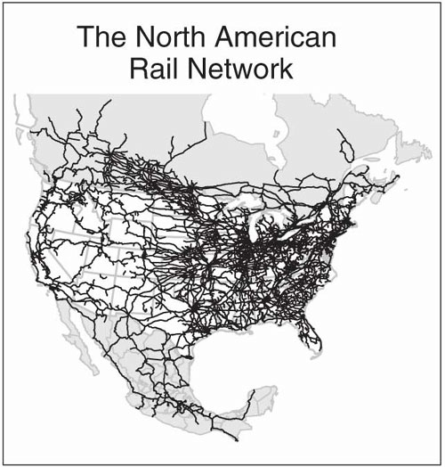 NAE Website The Freight Railroad Renaissance – Map Us Railroads