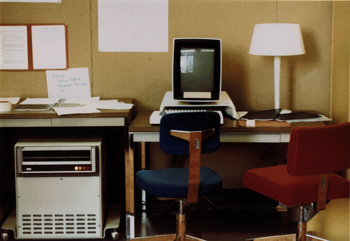 Alto, the first networked PC